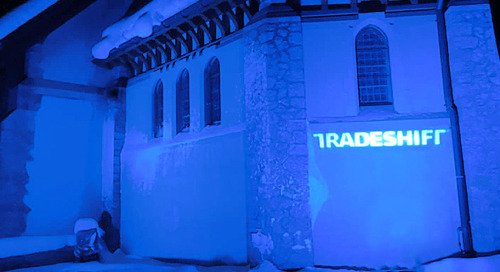 Tradeshift Sanctuary in Davos: a global meeting point for disruption