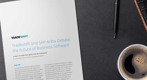 Tradeshift and Ariba debate the future of business software