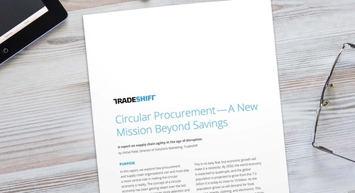 Circular procurement: An emerging path to sustainable revenue?