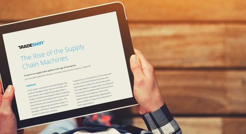 The rise of the supply chain machines