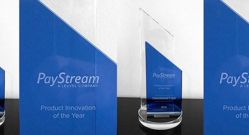 Tradeshift Go takes home 'Product Innovation of the Year' PayStream Advisors Award