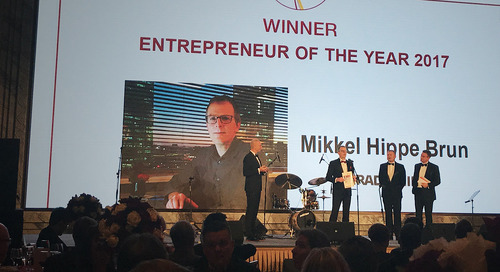 Going global in China: Tradeshift leader wins Entrepreneur of the Year award