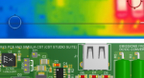 Thermal Simulation of Electric Losses on PCBs, Compared to Measurements