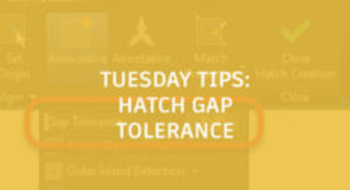 Breaking the Rules With Hatch Gap Tolerance in AutoCAD: Tuesday Tips With Frank