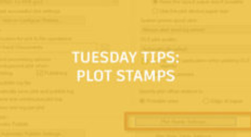Plot Stamps in AutoCAD: Tuesday Tips With Frank
