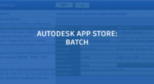 AutoCAD Batch Apps – Part One