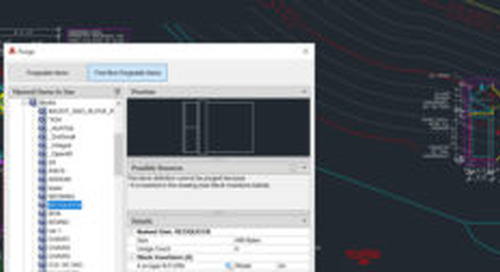 What's New in AutoCAD 2020? Purge redesigned