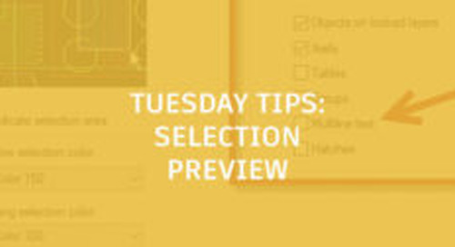 Selection Preview in AutoCAD: Tuesday Tips With Frank
