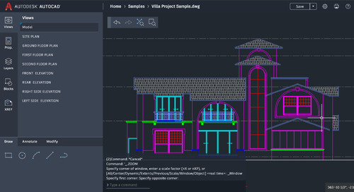 Get more work done anywhere with new AutoCAD web app features