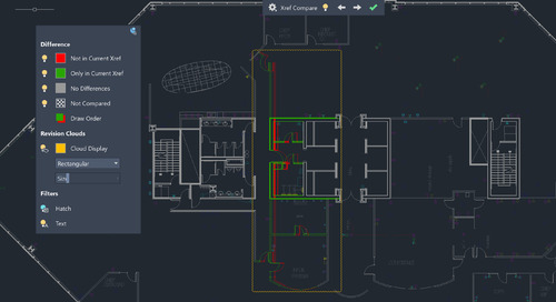 What's New in AutoCAD 2021? Xref Compare