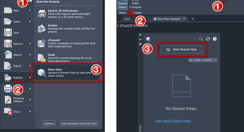 Collaborate With Shared Views in AutoCAD