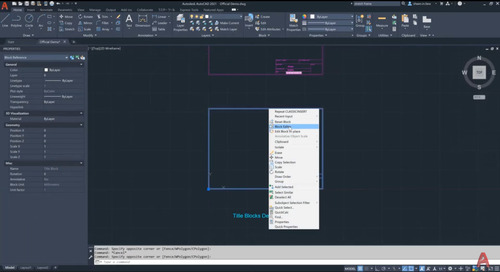 How to Work With Blocks in AutoCAD