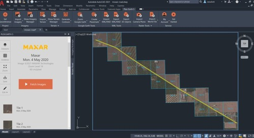 Access High-Resolution Aerial and Satellite Imagery in AutoCAD With Plex-Earth 5