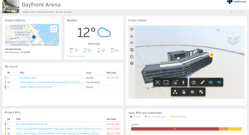 Announcing Construction IQ Preview, Partner Data Integrations and other Analytics capabilities for BIM 360