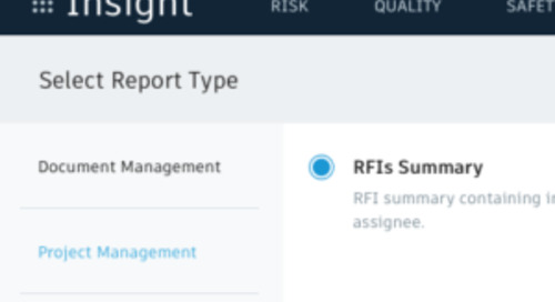 BIM 360 Reports: Create and schedule RFI Summary report