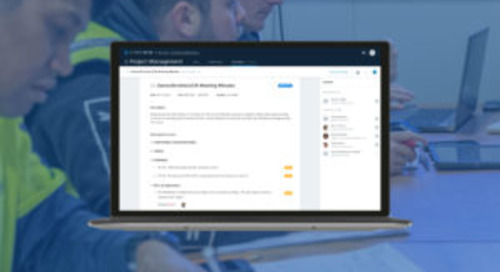 Adding Meeting Minutes to the BIM 360 Project Management Module!
