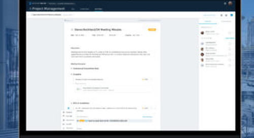 Project Management Updates – Issue & RFI Linking in Meetings, Submittals Workflow Date Tracking & More! May 2020