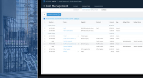 Cost Management Releases Including Tracking Actual Costs and Owner/Supplier Access