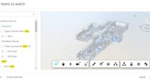 BIM 360 Design Collaboration Update – BIM 360 Change Analysis – July, 2021