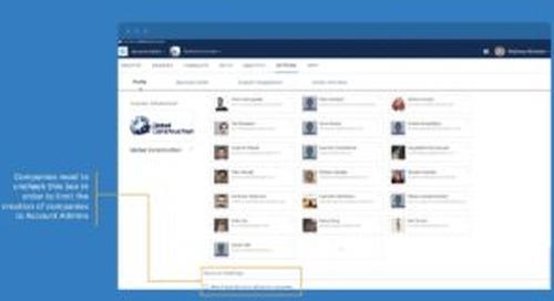 BIM 360 Admin – Limit Company Creation to Account Admins