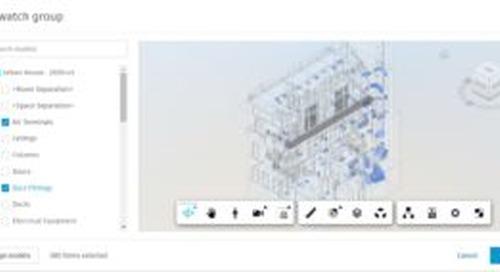 BIM 360 Design Collaboration Update – BIM 360 Change Analysis – August, 2021