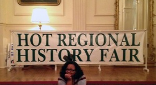 Introducing Brandice Nelson, Map Curator and Coordinator for the Heart of Texas Regional History Fair