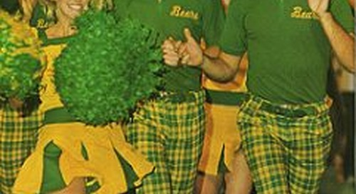 Looking Back at Baylor: The Origin of the Green and Gold