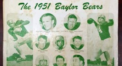 From Page to Air: Sharing Baylor Football since 1951