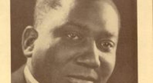 Jules Bledsoe: Waco's Famous Baritone