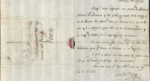 The Pérez Gálvez Letters: A Glimpse of Colonial Mexico