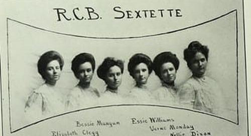 Sharing Student Scholarship: Access at Baylor University, 1900-1910