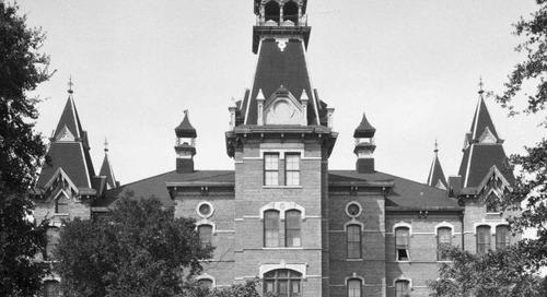 Texas Over Time: Baylor University's Old Main and Burleson Hall