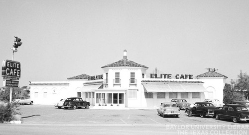 Texas Over Time: Waco's Elite Café-the 1952 Renovation and Magnolia Table, Today