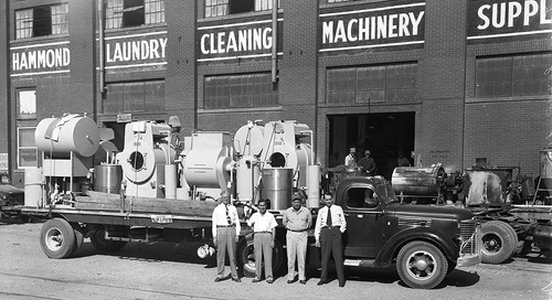Texas Over Time: The Hammond Laundry Cleaning Machinery and Supply Company of Waco, Texas