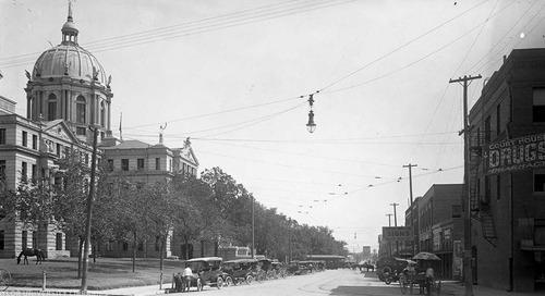Texas Over Time: The McLennan County Courthouse, Waco, Texas.