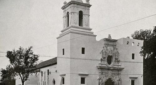 Texas Over Time: St. Francis on the Brazos Catholic Church, Waco, Texas