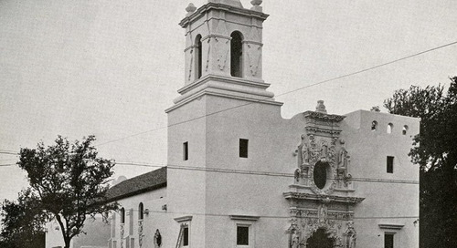 Texas Over Time: St. Francis on the Brazos Catholic Church, Waco, Texas