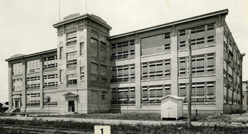 Texas Over Time: Miller Cotton Mills (L.L. Sams Building) at 100 Years, 1920-2020, Waco, Texas