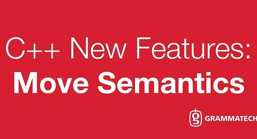 New Features of C++: Move Semantics