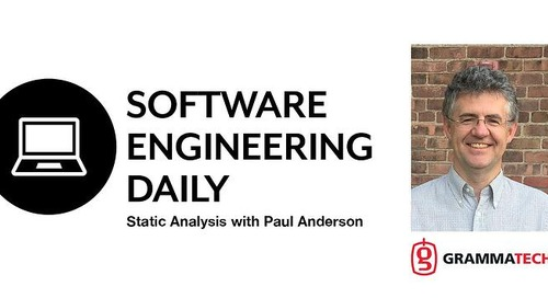 GrammaTech's Paul Anderson on the Software Engineering Daily Podcast