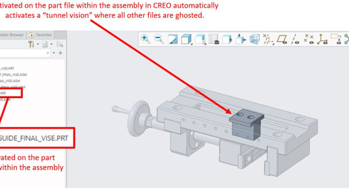 CATIA V5 Tip: Low Light Mode in CATIA Assemblies