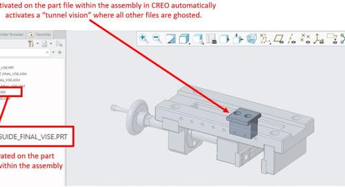 CATIA V5 Tip: Low Light Mode in CATIA Assemblies