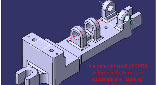CATIA V5 Visual Tip: Z-buffer Depth Display