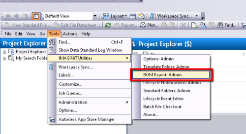Can't Save BOM Export Setup Edits in IMAGINiT Vault Client Utilities