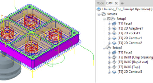 Looking to learn Inventor CAM 2D Milling?