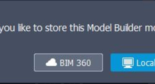 InfraWorks Model Collaboration with BIM360 DOCS