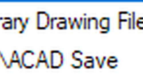 AutoCAD Based Products File Save Process Explained in Detail