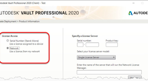 """How to Create Vault Workgroup/Professional 2020 Client Deployments Using """"Autodesk ID"""" Activation"""