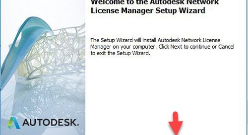 Download and Install Autodesk Network License Manager (LMTools or FlexLM)