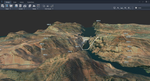 Import an InfraWorks Surface into Civil 3D